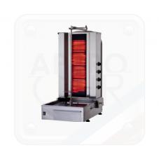 MACHINE A KEBAB GAZ OU ELECTRIQUE - INOX CONCEPT KEBAB KLG17X - KLG15X